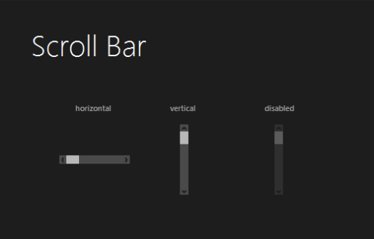 Css scrollbar style in ie
