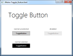 Toggle Button light metro style