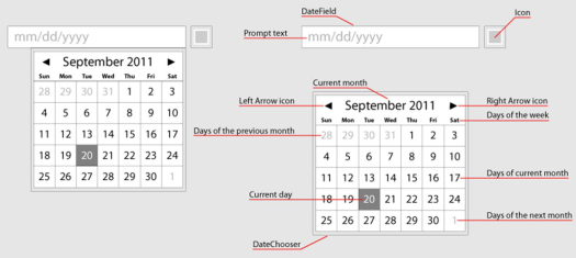 DatePicker UX